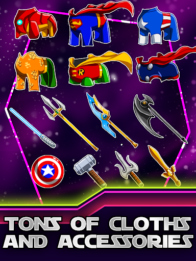 Create Your SuperHero Patrol - screenshot