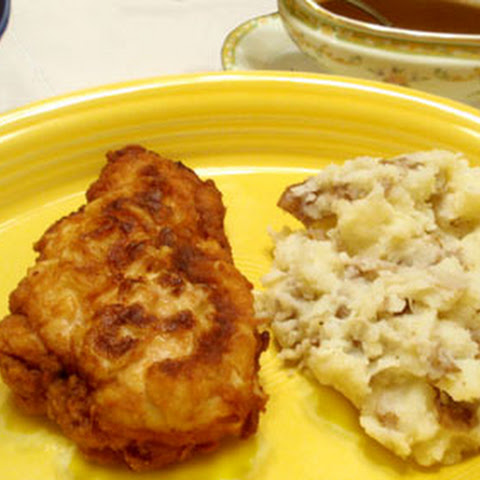 Chicken Fried Chicken with Cream Gravy