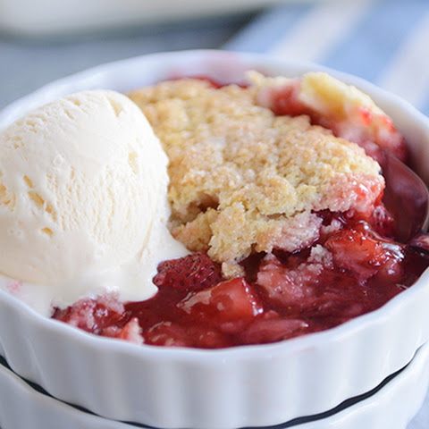 Fresh Strawberry Cobbler