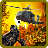 Download Android Game Warrior Fury Heli Gunship War for Samsung