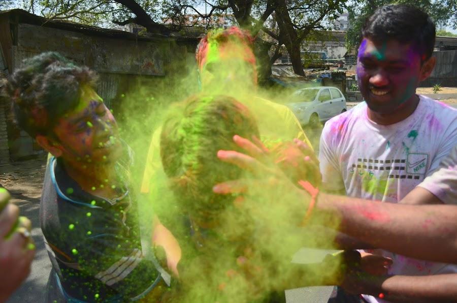 HOLI FEST-INDIA by Praveen KS - People Fine Art