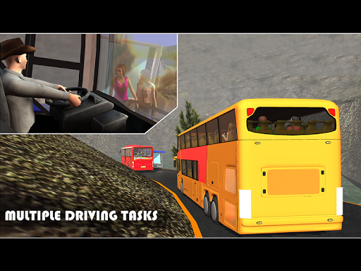Off Road Tour Coach Bus Driver - screenshot