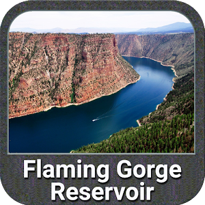 Flaming Gorge Lake GPS Fishing Chart For PC / Windows 7/8/10 / Mac – Free Download