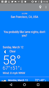 What The Forecast?!! screenshot for Android