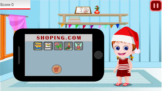 Baby Game Emma Christmas Treat- screenshot