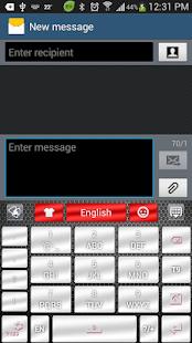App Chrome Style GO Keyboard Theme APK for Windows Phone