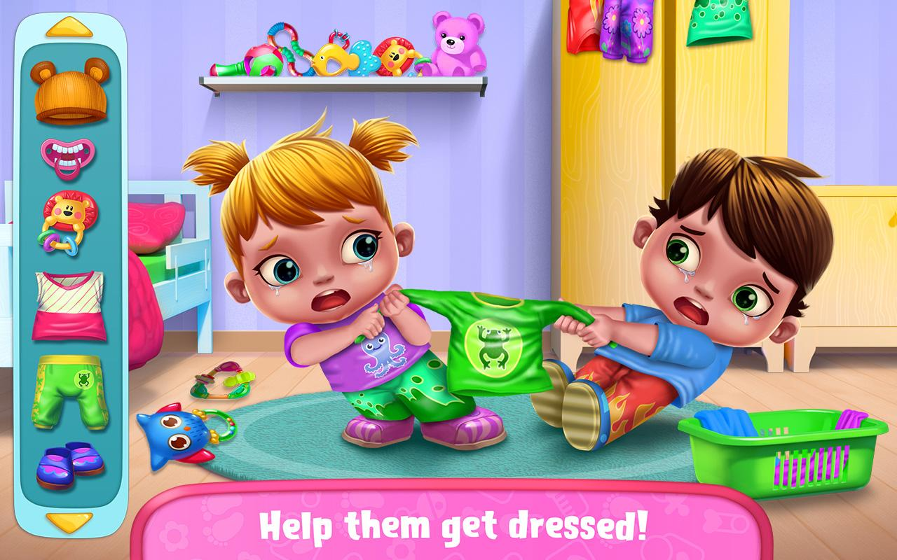 Baby Twins - Terrible Two Screenshot 0