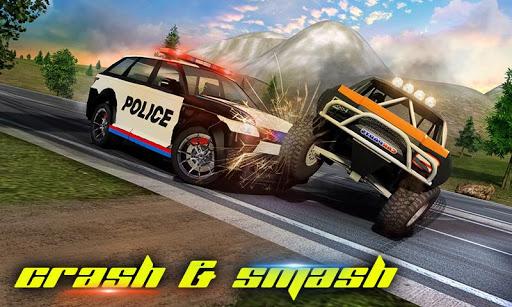 Police Car Smash 2017 screenshot 2