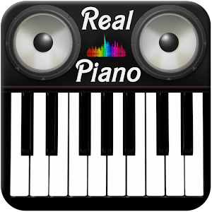 Real Piano is the totally different and relaxing app APK Icon