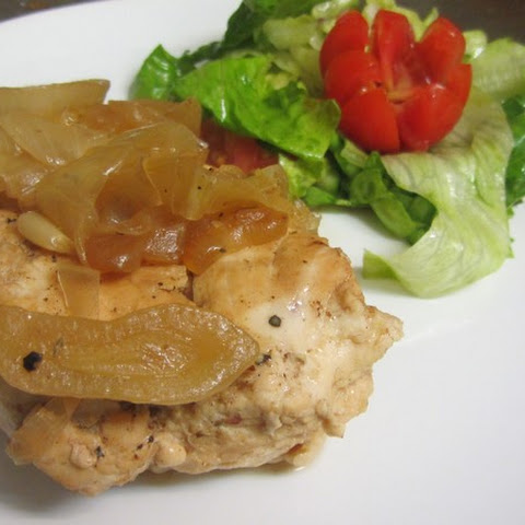 Chicken Breast In The Oven – With Onions, Lemon And Garlic
