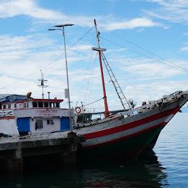 Fleet by Mochamad Anas - Transportation Boats ( sky, sea, transportation, boat, photography )