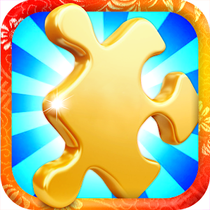 Jigsaw Puzzles Gold Icon