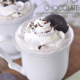 Thin Mints Hot Chocolate