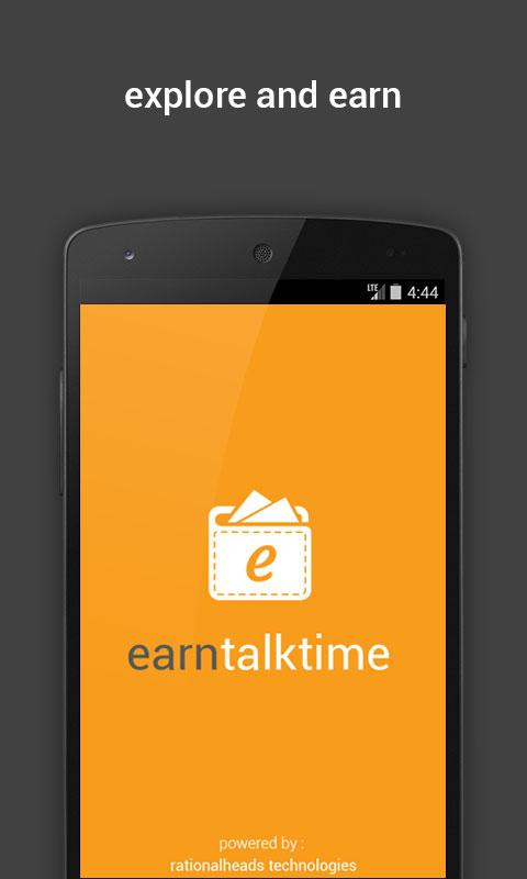 Earn Talktime Screenshot 0