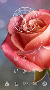 Dewy Rose theme - screenshot