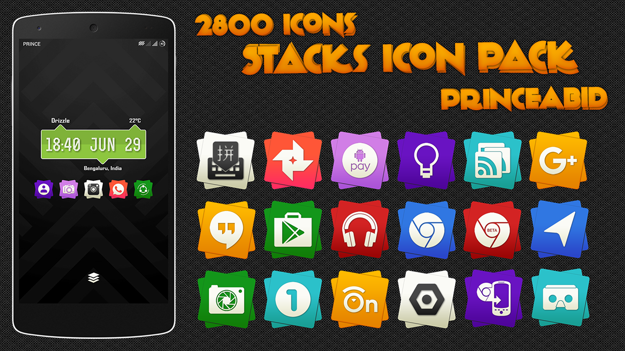 Stacks Icon Pack Screenshot 2