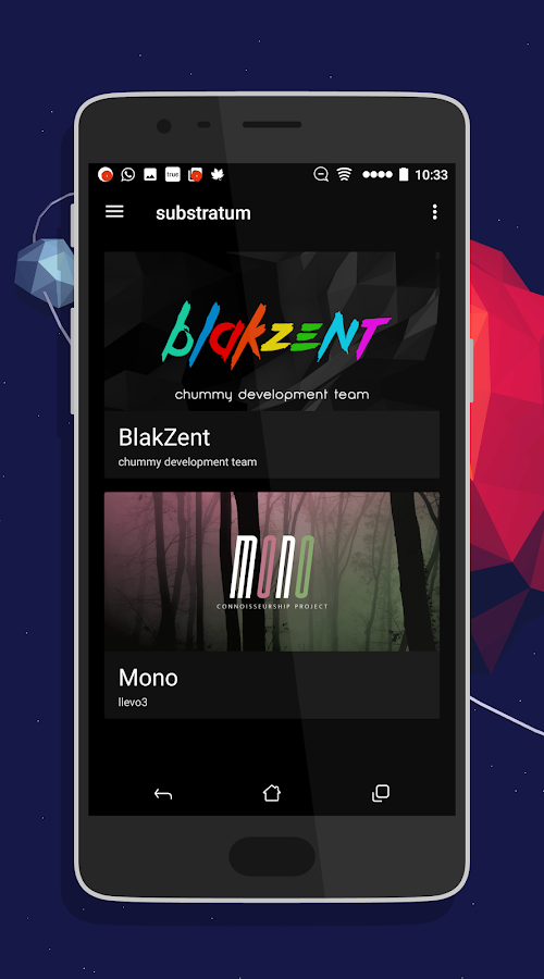 [Substratum] blakZent ★ Screenshot 3