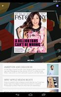 Screenshot of Google Play Newsstand