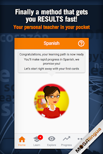 Learn Spanish with MosaLingua for pc