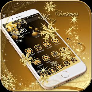 Золото Рождество 2016 Тема
