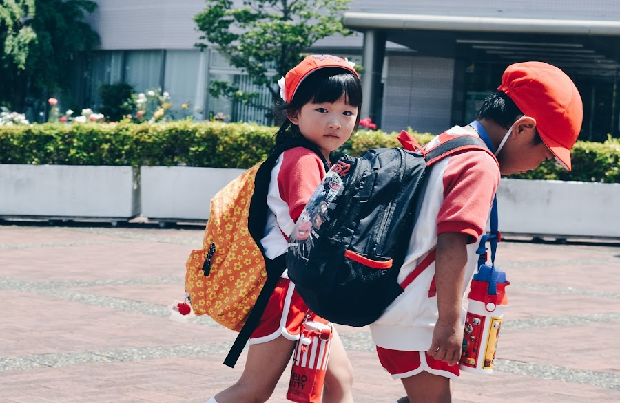 Japanese kids by Valentina Cantera - Babies & Children Children Candids ( red, japanese, childhood, japan, children, kid, asia, girl, girl child, kids )