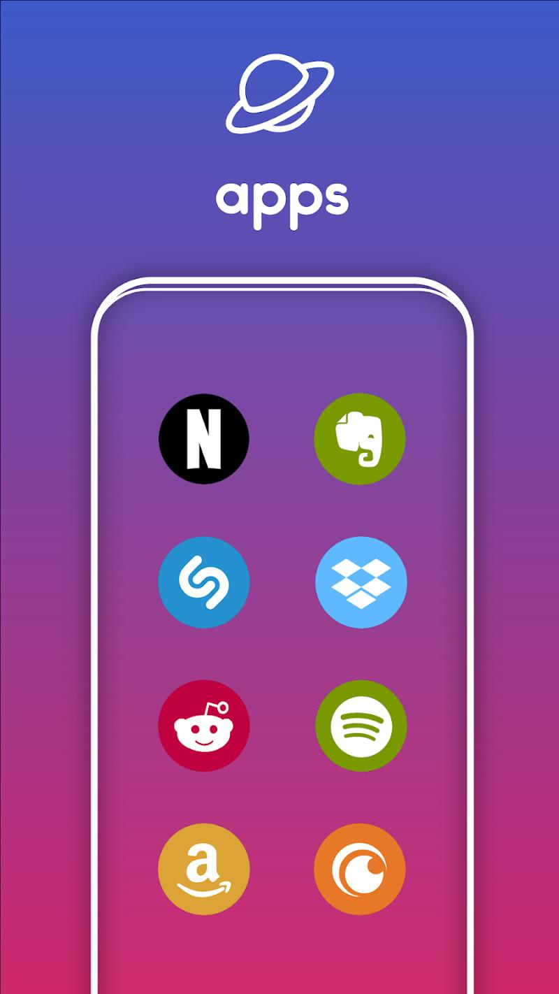 One UI Pixel - Icon Pack Screenshot 2