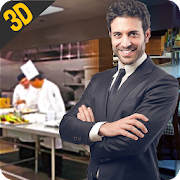 MY restaurant Manager: Virtual manager games 3D 1.2 Icon