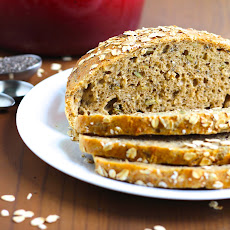 No-Knead Whole Wheat Chia Bread