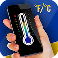 Thermometer with ambient temperature APK