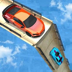 Mega Ramp Car Racing :  Impossible Tracks 3D For PC / Windows 7/8/10 / Mac – Free Download