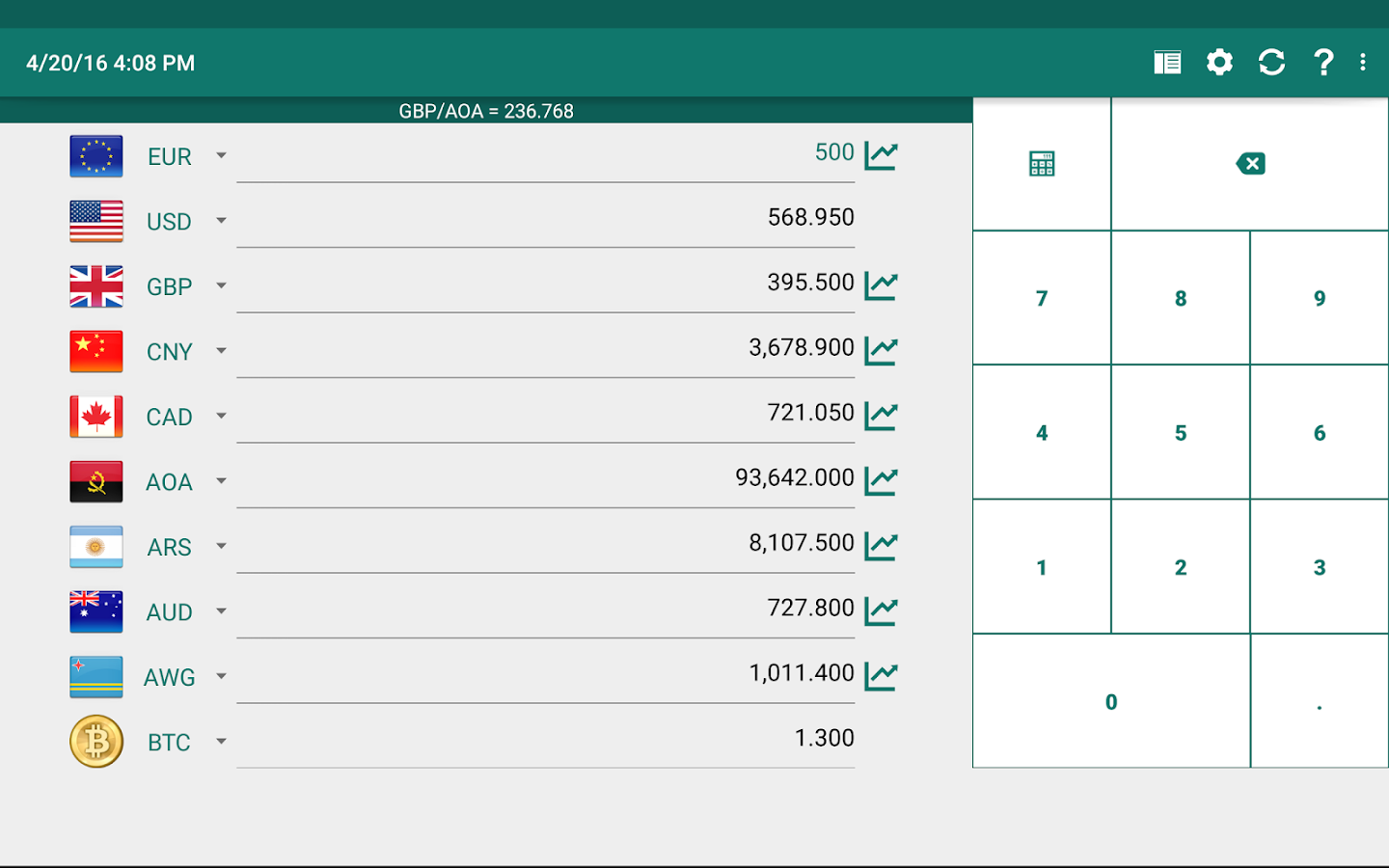 Currency Converter Plus Screenshot 11