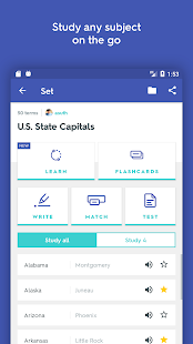 App Quizlet Learn With Flashcards apk for kindle fire