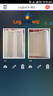 Logbookwiz - screenshot