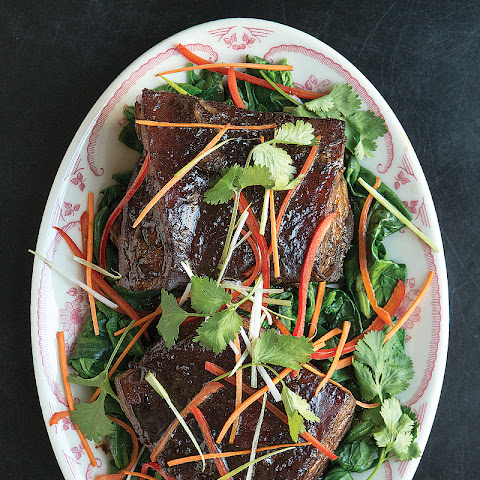 Wang Choy Chow Sau (Braised Pork Belly)