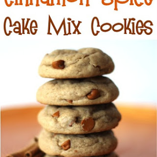 Spice Cake Mix Cookies Recipes