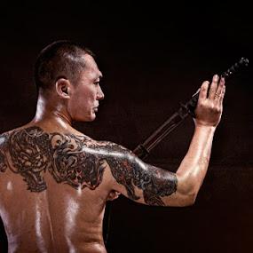 The Dragon Katana by Gesit Pinanjaya - People Body Art/Tattoos