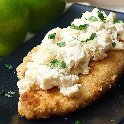 Goat Cheese Apple Chicken