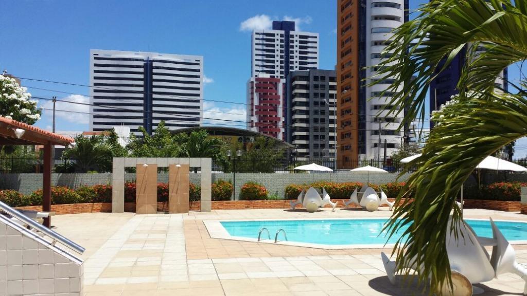 Apartamento residencial à venda, Bessa, João Pessoa - AP4847.