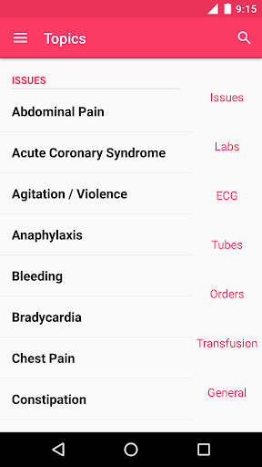 MD on Call - Practical Guide 2017-18 screenshot for Android