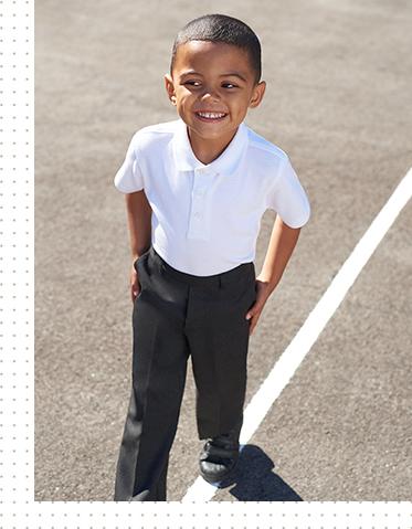 Shop school polo shirts at George.com