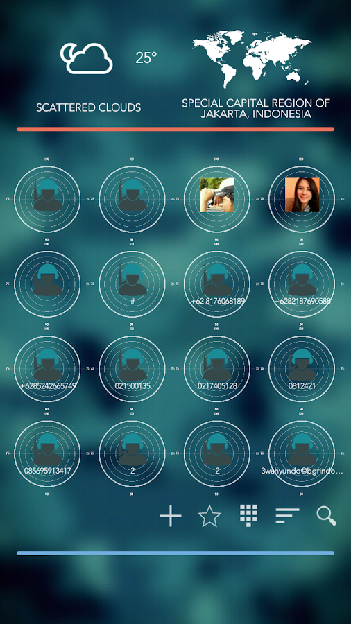 Radar Theme Total Launcher Screenshot 2