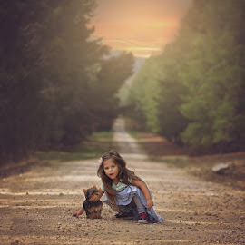 Long road home by Lucia STA - Babies & Children Child Portraits