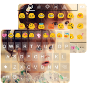 Cute Photo Emoji Keyboard Skin APK Descargar