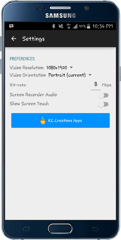 Screen Recorder NO ROOT PRO Screenshot 1