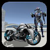 Police Moto Robot Transformer APK baixar