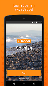 Learn Spanish With Babbel APK screenshot thumbnail 1