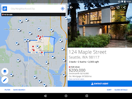 Screenshot of Zillow Real Estate & Rentals