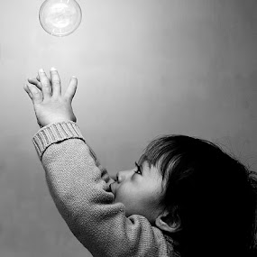 by Gusti Yogiswara - Babies & Children Children Candids ( child, bubble )