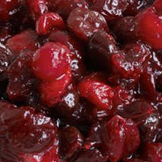 Cranberry and Dried-Cherry Sauce