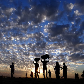by Simanta Hazarika - Landscapes Cloud Formations